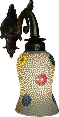 Weldecor Antiqua Brasso Floral Stars Night Lamp