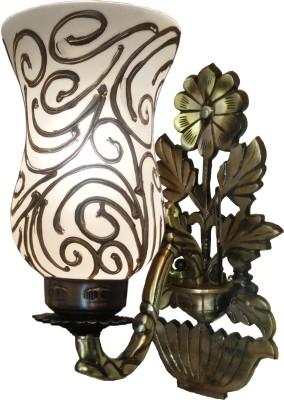 LightingWorld Golden Web on Flower Base Night Lamp