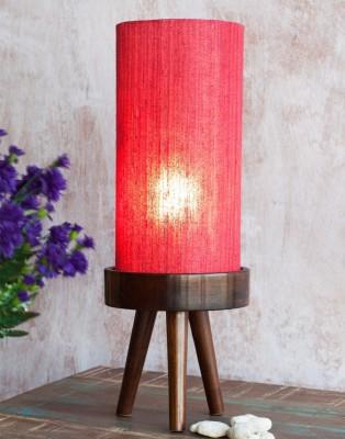 Orange Tree Astor Red Table Lamp