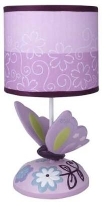 Lambs & Ivy Shade and Bulb Night Lamp