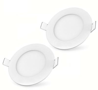 Bene LED 3w Round Panel (Pack of 2 Pcs) Night Lamp