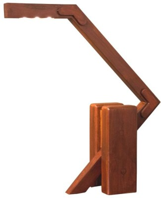 Asad Firdosy Lamps by Steradian Lighting Wooden Table Lamp