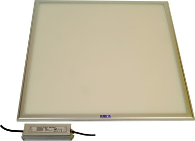 Renota Led Lightings Panel Light 36w Square Shape With Silver Frame Night Lamp