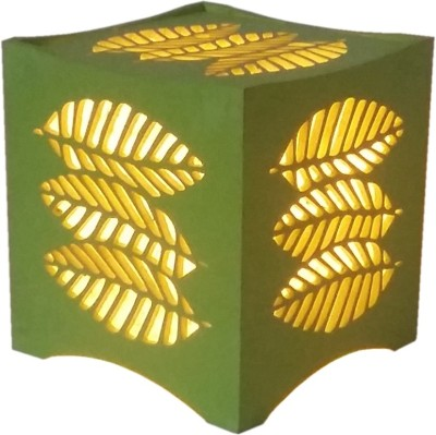 Brauch Design Green Leaf Cube Night Lamp