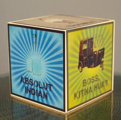 10 A M India Funny Cube Lamp - Acrylic Table Lamp