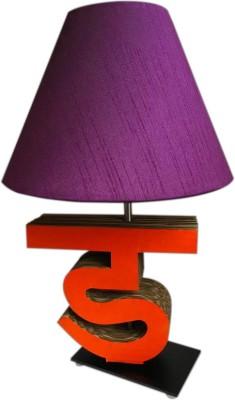 Sylvn studio Diligent DA letter lamp purple Table Lamp