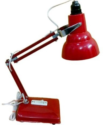 Micron Antique Jyoti Red Table Lamp