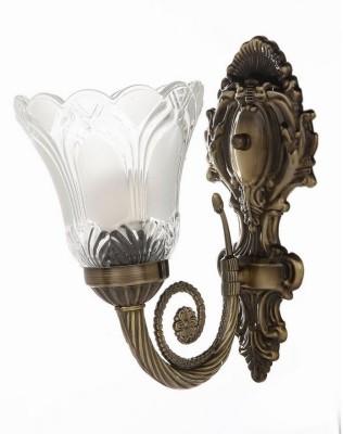 WhiteRay Imported Metallic Design Glass Night Lamp