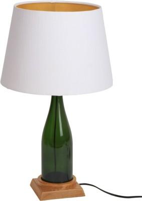 Bespoke Crafts WHITE CHAMPANGE Table Lamp
