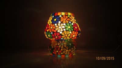 MK lighting and electrical Glass Mosaik 03 Table Lamp