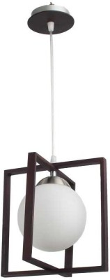 LeArc Wood Glass Pendent Hanging Lamps H...