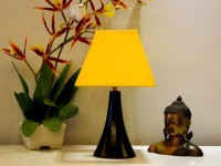 Tu Casa LG-199 Table Lamp(13 cm, Yellow)