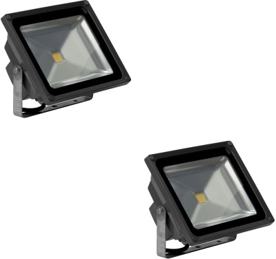 Ryna 50w LED Flood Light-White Colour-Pack Of 2 Piece Night Lamp