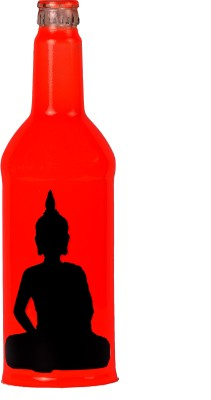 Kavi The Poetry Art Project Buddha - Fl. Red Table Lamp