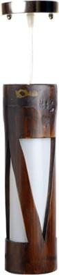 Art World Triangular Brown Night Lamp