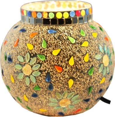 Brahmz Glass Mossiac Table Lamp