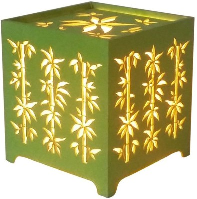 Brauch Design Chinese Bamboo Green Cube Night Lamp