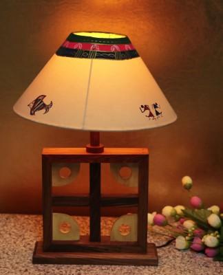 Craftbell Artistic Square Table Lamp