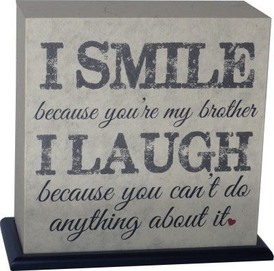 Shady Ideas Smile Brother Table Lamp