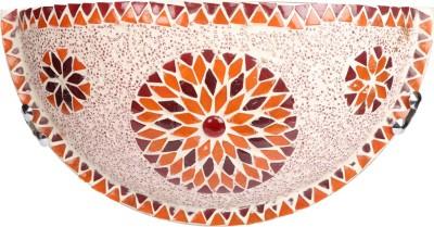 EarthenMetal Mosaic Style semi-circular shaped Night Lamp