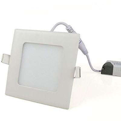 Glitz 12w Square LED Slim Panel, Warm White 3000k with driver Night Lamp