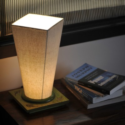 ExclusiveLane 13 Inch Conical Table Lamp