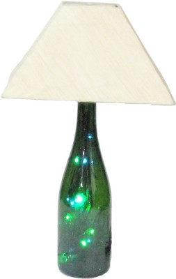 Aadhya Creations Wine Led With Square White Shade Table Lamp