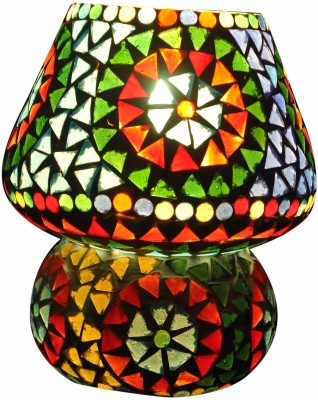 Gojeeva Multi Mussaic Small Table Lamp