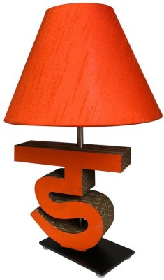 Sylvn studio Diligent DA letter lamp orange Table Lamp
