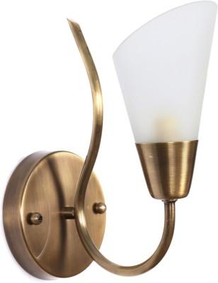 Fos Lighting Modern Cone Antique Brass Night Lamp