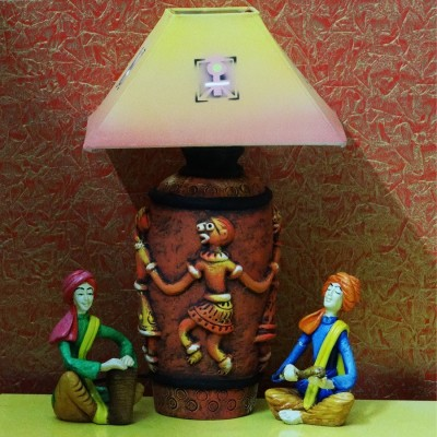 Kalaplanet Handpainted Terracotta - Dancing Man Night Lamp