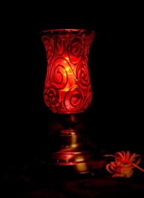 Gojeeva Antique Mosaic Work Decorative 1 Table Lamp