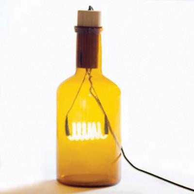 Seletti Bouche Table Lamp - Amber Table Lamp