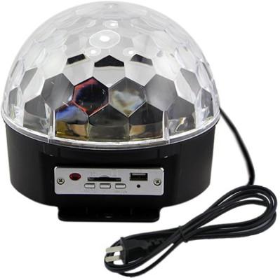 SJ Crystal Magic Ball Light MP3 Player Night Lamp