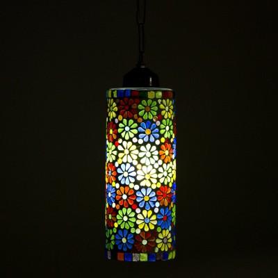 Smile2u Retailers Stone Mosaic Hand Work Night Lamp