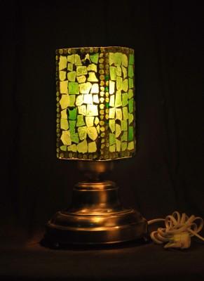 Gojeeva Antique Mosaic Work Decorative 8 Table Lamp