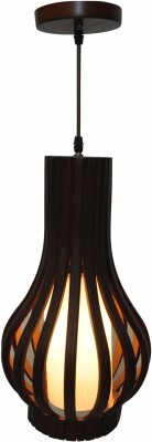 Gojeeva Wooden Body Hanging Light Night Lamp