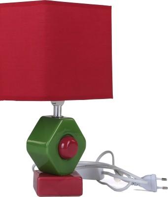 Kribala Taji Daa KTD LS2 Red Table Lamp