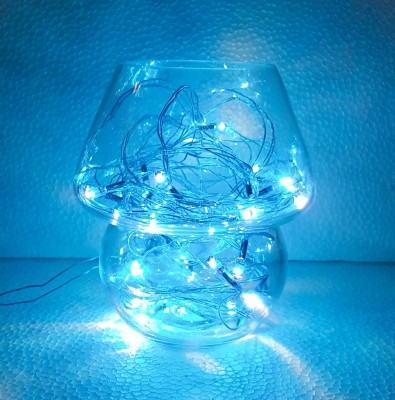 Barish Clear Blue Night Lamp