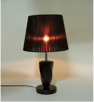 Sunrise Enlighten Table Lamp(50 cm, Black, Brown)