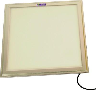 Renota Led Lightings Panel Light 24w Square Shape With Silver Frame Night Lamp