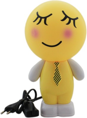 Tootpado Smiley Cartoon LED Desk - 1m194 - Table , Study (Size: 12x12x24 cm) Night Lamp