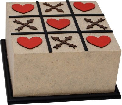 Shady Ideas Tic Tac Toe - Valentine Special Table Lamp