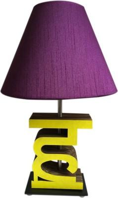 Sylvn studio Heavenzy HA letter lamp purple Table Lamp