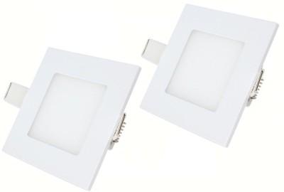 Bene LED 3w Square Panel (Pack of 2 Pcs) Night Lamp