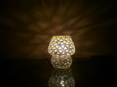 MK lighting and electrical Glass Table Lamp Mosaik 10 Table Lamp