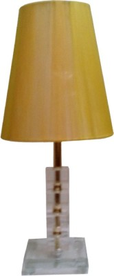 Diya Designs Crystal Look Yellow Table Lamp