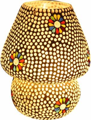 Gojeeva White Dall Tilak Full Med Table Lamp