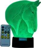 Technuv 3D night lamp Night Lamp (10 cm,...