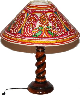 Nayahub Double Peacock Round Table Lamp